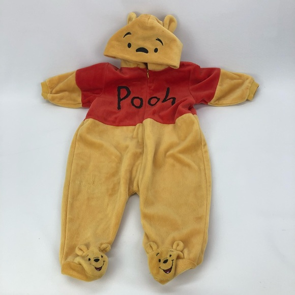 c559b8ff6 Disney Costumes | Winnie Pooh Baby Infant Costume 69 Winter Suit ...